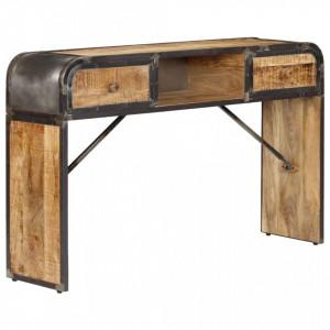 Servanta, 120 x 30 x 75 cm, lemn masiv de mango - V247805V