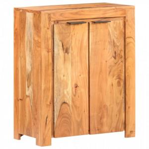 Servanta, 59 x 33 x 75 cm, lemn masiv de acacia - V320213V