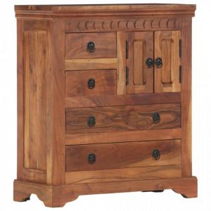Servanta, 62 x 30 x 75 cm, lemn masiv de acacia - V248004V