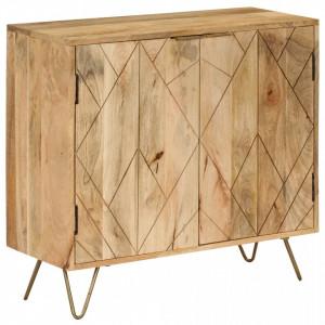 Servanta, 80 x 30 x 75 cm, lemn masiv de mango - V246155V