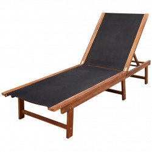 Sezlong din lemn de acacia - V41745V