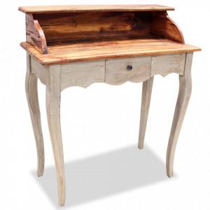 Birou de scris, lemn masiv reciclat 80 x 40 x 92 cm - V244503V