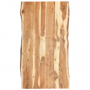 Blat de masa, 120x60x3,8 cm, lemn masiv de acacia - V286334V