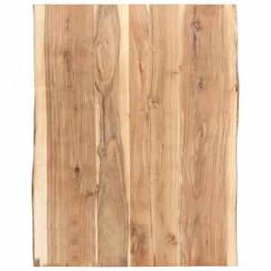Blat de masa, 80x60x3,8 cm, lemn masiv de acacia - V286330V