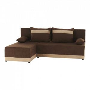 Canapea universală, maro / bej, ROMAND