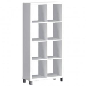 Dulap biblioraft, alb, TOFI 3 NEW