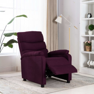 Fotoliu rabatabil, violet, material textil - V321223V