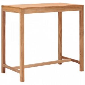 Masa de bar de gradina, 110 x 60 x 105 cm, lemn masiv de tec - V287234V