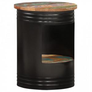 Masuta de cafea, 43 x 55 cm, lemn masiv reciclat - V287486V