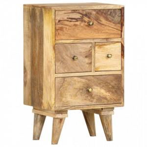 Noptiera, 36 x 30 x 60 cm, lemn masiv de mango - V286123V