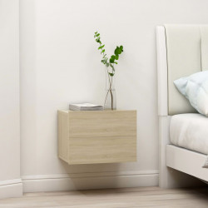 Noptiere, 2 buc., stejar Sonoma, 40 x 30 x 30 cm, PAL - V801060V