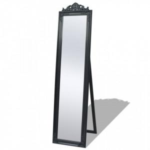 Oglinda verticala in stil baroc 160 x 40 cm negru - V243694V