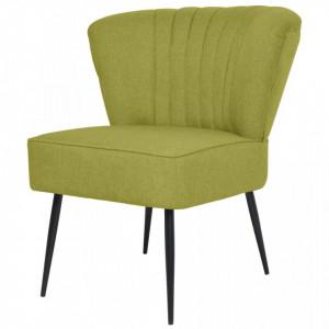 Scaun cocktail, verde, material textil - V244099V
