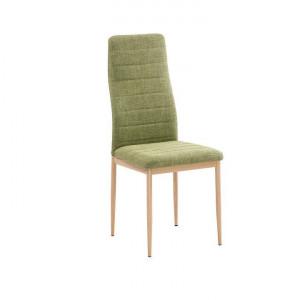 Scaun, material textil verde/cadru metalic fag, COLETA NOVA