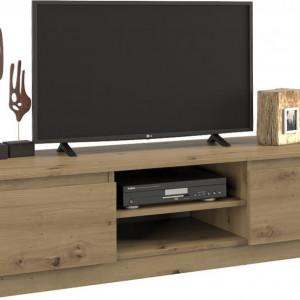 TECOTVAR103 - Comoda TV 120 x 40 x 36 cm, Stejar Artisan