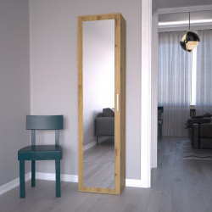 TEDUAR109 - Dulap hol, sifonier 50 x 35 x 180 cm, Stejar Artisan