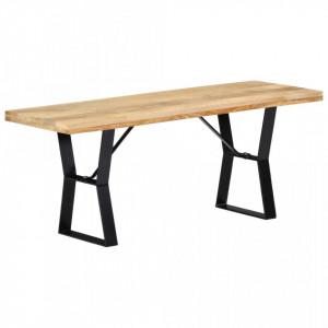 Banca, 110 cm, lemn masiv de mango - V247951V