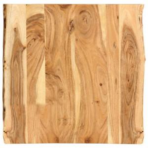 Blat de masa, 60x60x2,5 cm, lemn masiv de acacia - V286327V