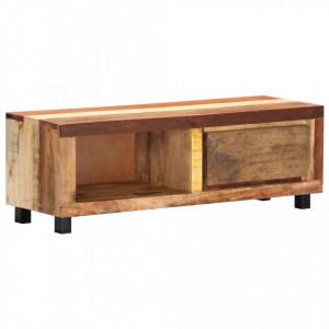 Comoda TV, 100 x 30 x 33 cm, lemn masiv reciclat - V247955V