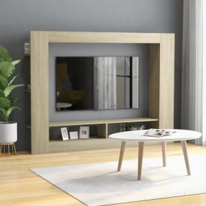 Comoda TV, stejar Sonoma, 152 x 22 x 113 cm, PAL - V800741V