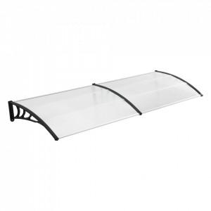 Marchiza copertina ST240, 240 x 100 cm, plastic ABS/policarbon, negru/transparent - P72611227