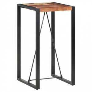 Masa de bar, 60 x 60 x 110 cm, lemn masiv de sheesham - V285953V