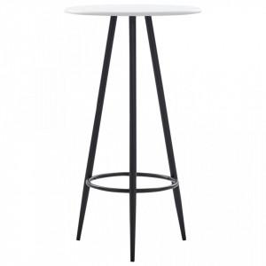 Masa de bar, alb, 60 x 107,5 cm, MDF - V281544V