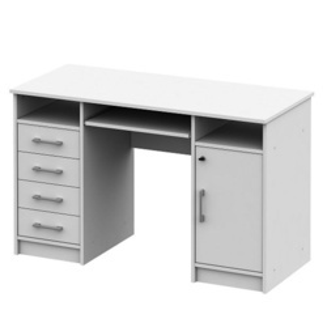 masă PC, alb, B9 NEW
