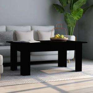 Masuta de cafea, negru, 100 x 60 x 42 cm, PAL - V801180V