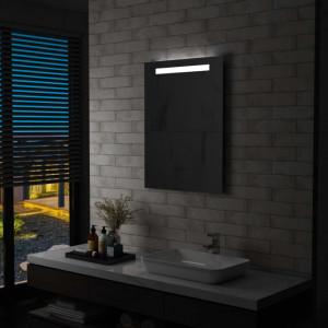 Oglinda cu LED de perete de baie, 60 x 80 cm - V144709V