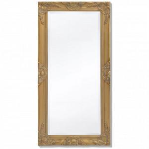 Oglinda de perete in stil baroc, 100 x 50 cm, auriu - V243680V