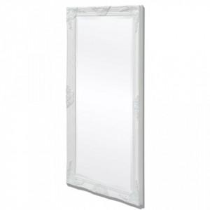 Oglinda verticala in stil baroc 120 x 60 cm alb - V243683V