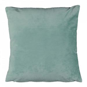 Pernă, material textil de catifea mentă, 45x45, ALITA TIPUL 10