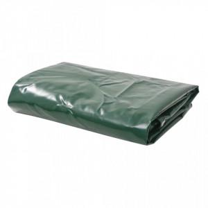 Prelata 650 g/m² 4 x 4 m Verde - V43823V