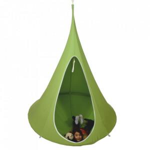 Scaun suspendabil balansoar, verde, KLORIN BIG SIZE