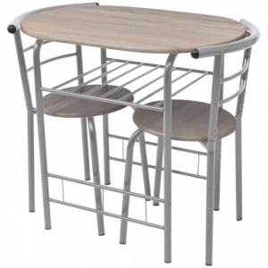 Set mobilier bar pentru mic dejun, MDF - V243002V