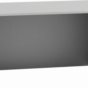 TEBIA107 - Birou, masa de scris 120 x 60 x 74 cm, Alb-Mat