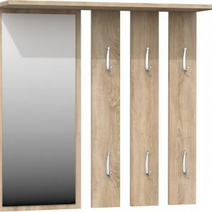 TECUIS111 - Cuier hol tip panou 85 x 82 x 15 cm - Sonoma