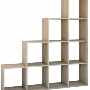 TERAS101 - Raft, biblioteca 153 x 30 x 153 cm, Sonoma