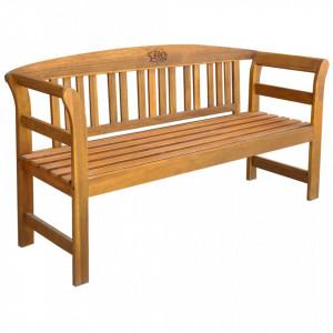 Banca de gradina, 157 cm, lemn masiv de acacia - V44131V