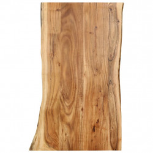 Blat de masa, 100x60x2,5 cm, lemn masiv de acacia - V286331V