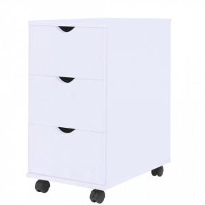 Dulap cu sertare, 33 x 45 x 60 cm, alb - V245727V