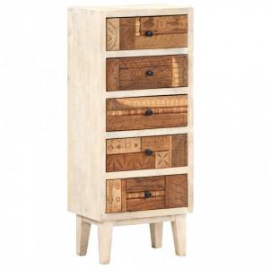 Dulap cu sertare, 45 x 30 x 105 cm, lemn masiv reciclat - V286537V