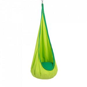 Fotoliu balansoar suspendat, verde, SIESTA TYP 1