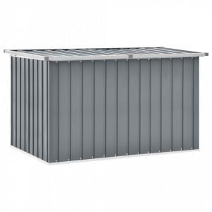 Lada de depozitare pentru gradina, gri, 149 x 99 x 93 cm - V46266V