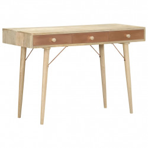 Masa consola, 118 x 45 x 76 cm, lemn masiv de mango - V287876V