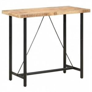 Masa de bar, 120 x 58 x 107 cm, lemn de mango nefinisat - V286611V