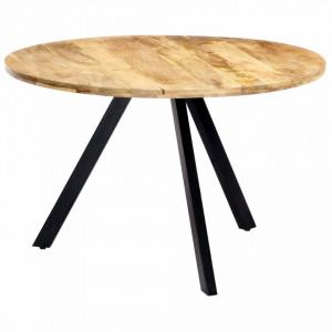 Masa de bucatarie, 120x76 cm, lemn masiv de mango - V247848V