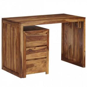 Masa de scris, lemn masiv de sheesham, 110 x 55 x 76 cm - V246216V