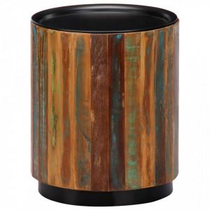 Masuta de cafea, 38x45 cm, lemn masiv reciclat - V247657V
